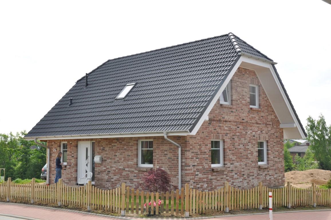 Häufig Fertighaus mit rotem Klinker - Thams Häuser VK44